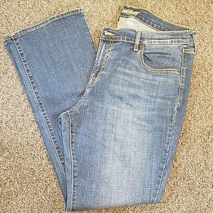 Old Navy the Sweetheart jeans size 16